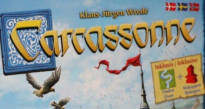 Carcassonne grunnspill fra Bergsala Enigma