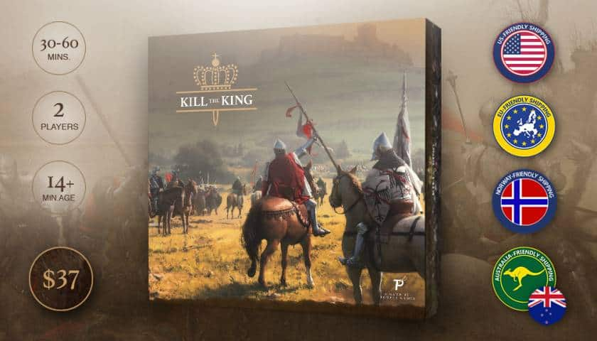 Kill the king – Norsk Suksess på Kickstarter!!!