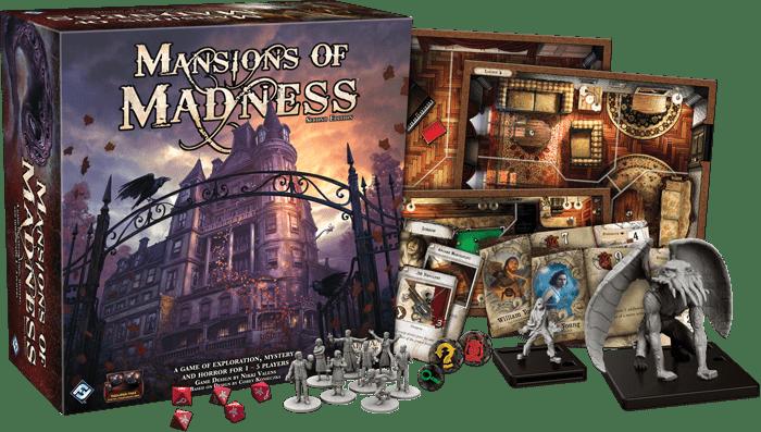 Mansions of Madness 2.0 – Appstyrt spill som fungerer!