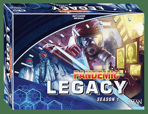 Pandemic Legacy Season 1 – genialt eller rett og slett oppskrytt?