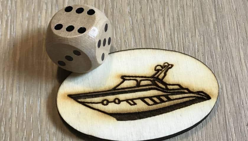 terning og yacht