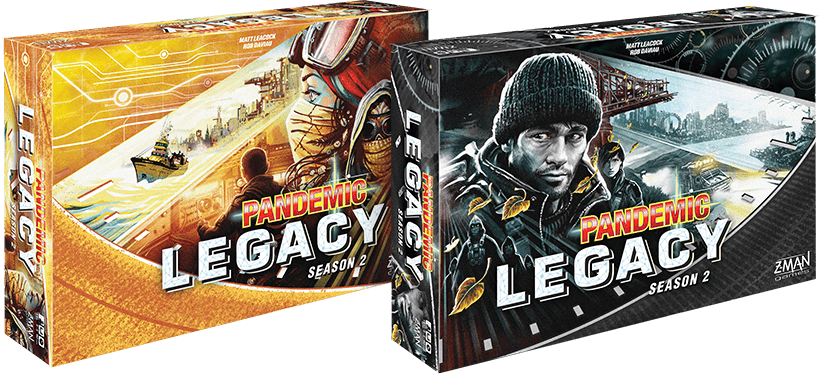 Pandemic Legacy Season 2 – Første titten