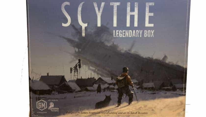 Legendary Scythe boks